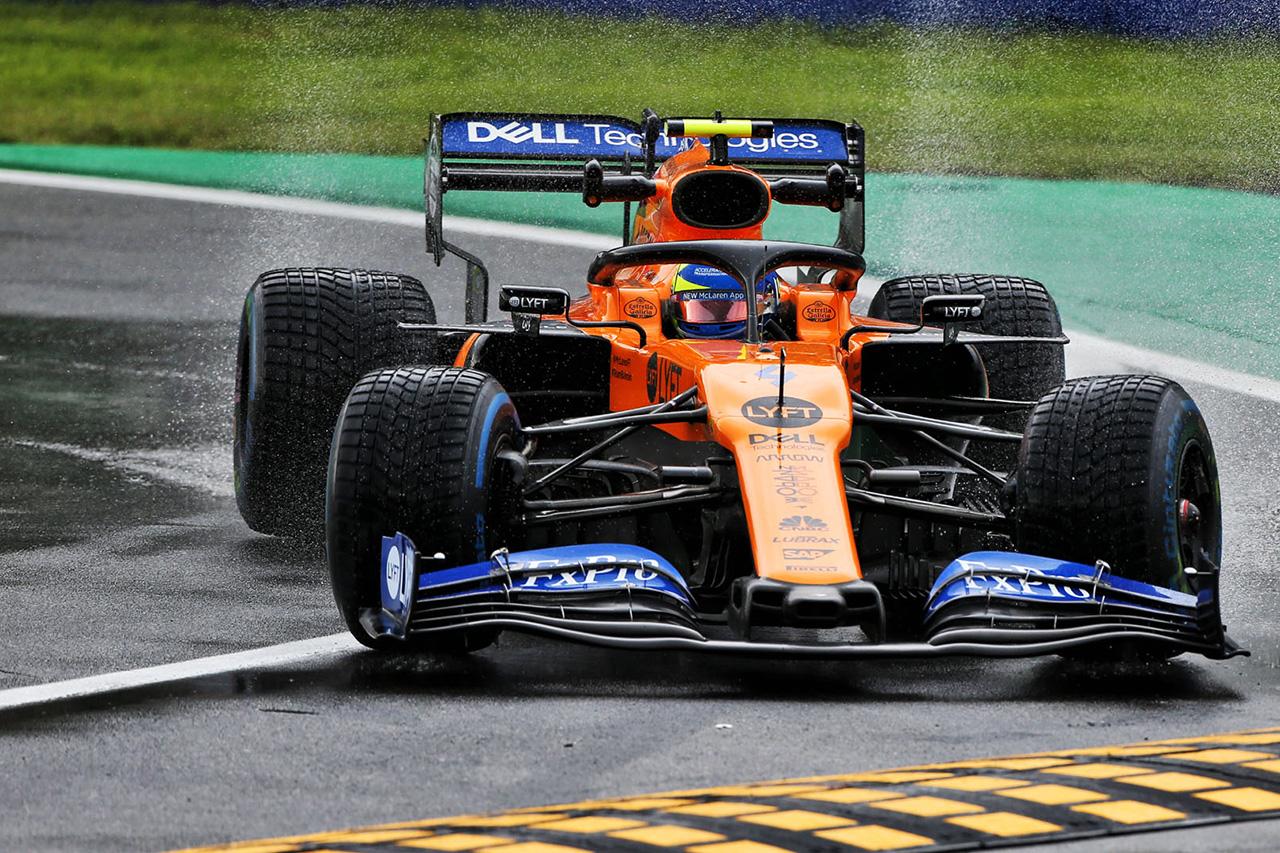 ランド・ノリス、ルノーの『スペックC』投入で後方スタート / F1イタリアGP