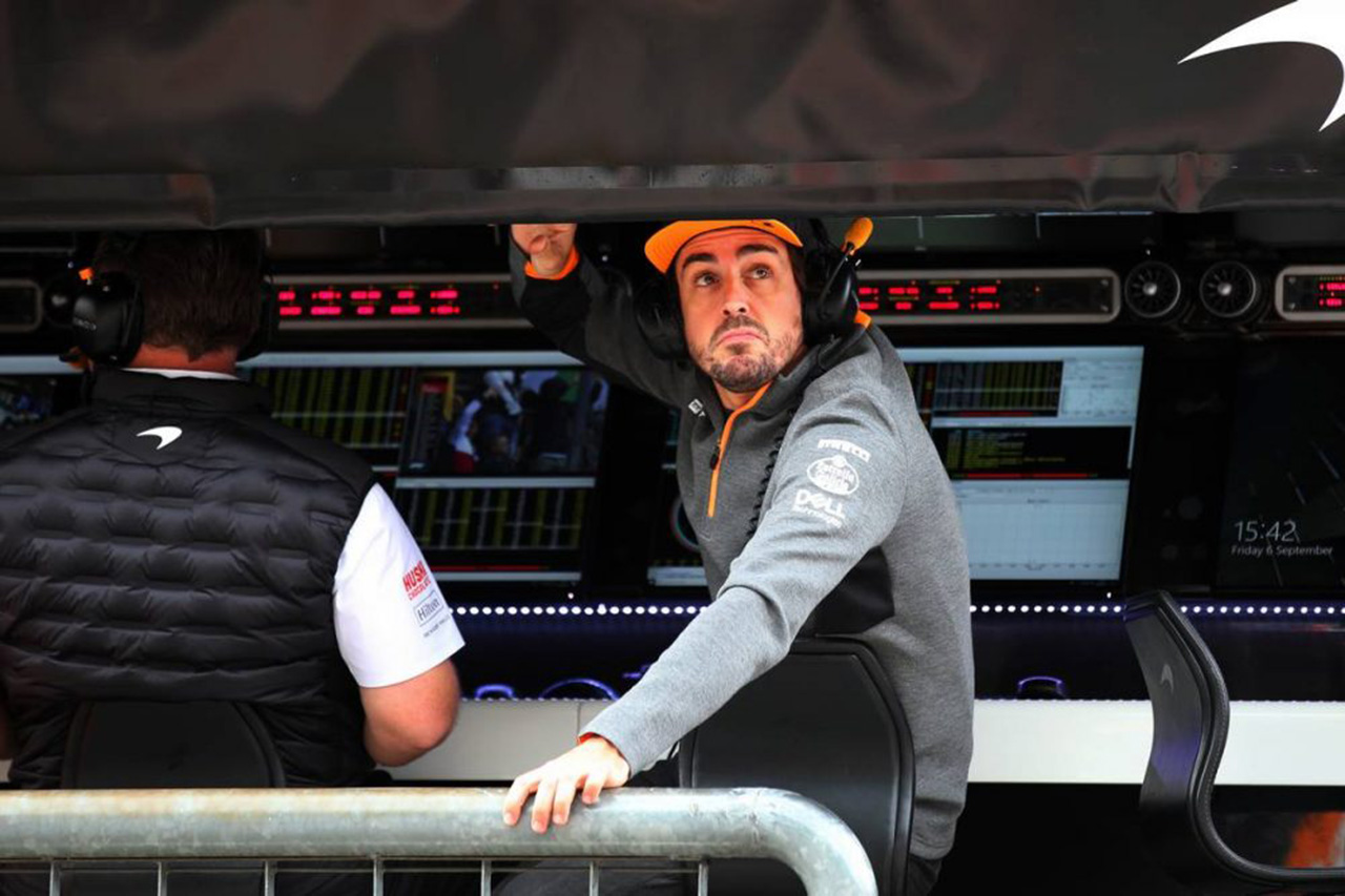 フェルナンド・アロンソ 「F1復帰は2021年の新レギュレーション次第」