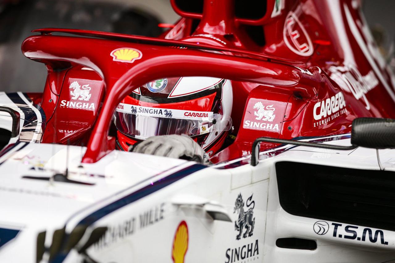F1 キミ・ライコネン、FP1でクラッシュも「貴重な時間は失っていない」