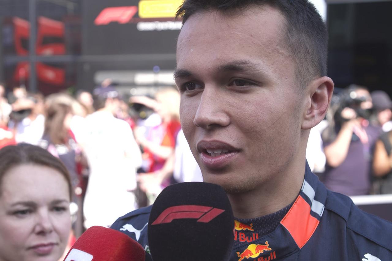 """アレクサンダー・アルボン、予選Q3での""""駆け引き""""を語る / F1イタリアGP"""