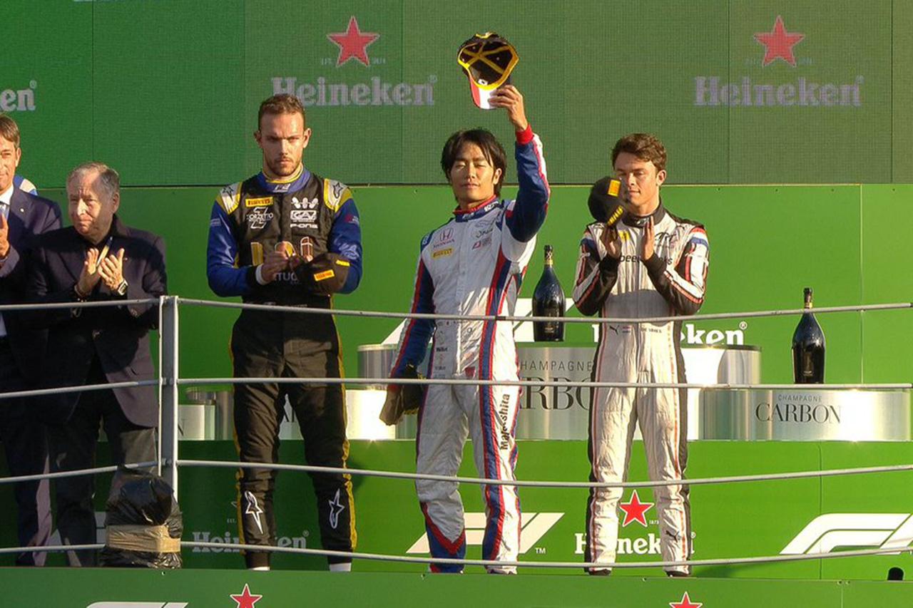 F2イタリア大会レース1