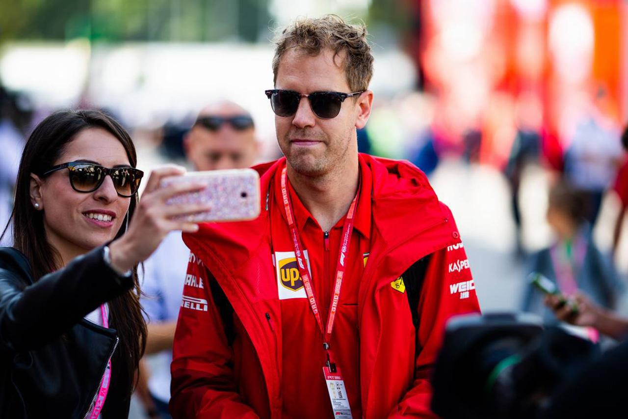 F1 セバスチャン・ベッテル、トウ戦略を守らなかったルクレールに不満