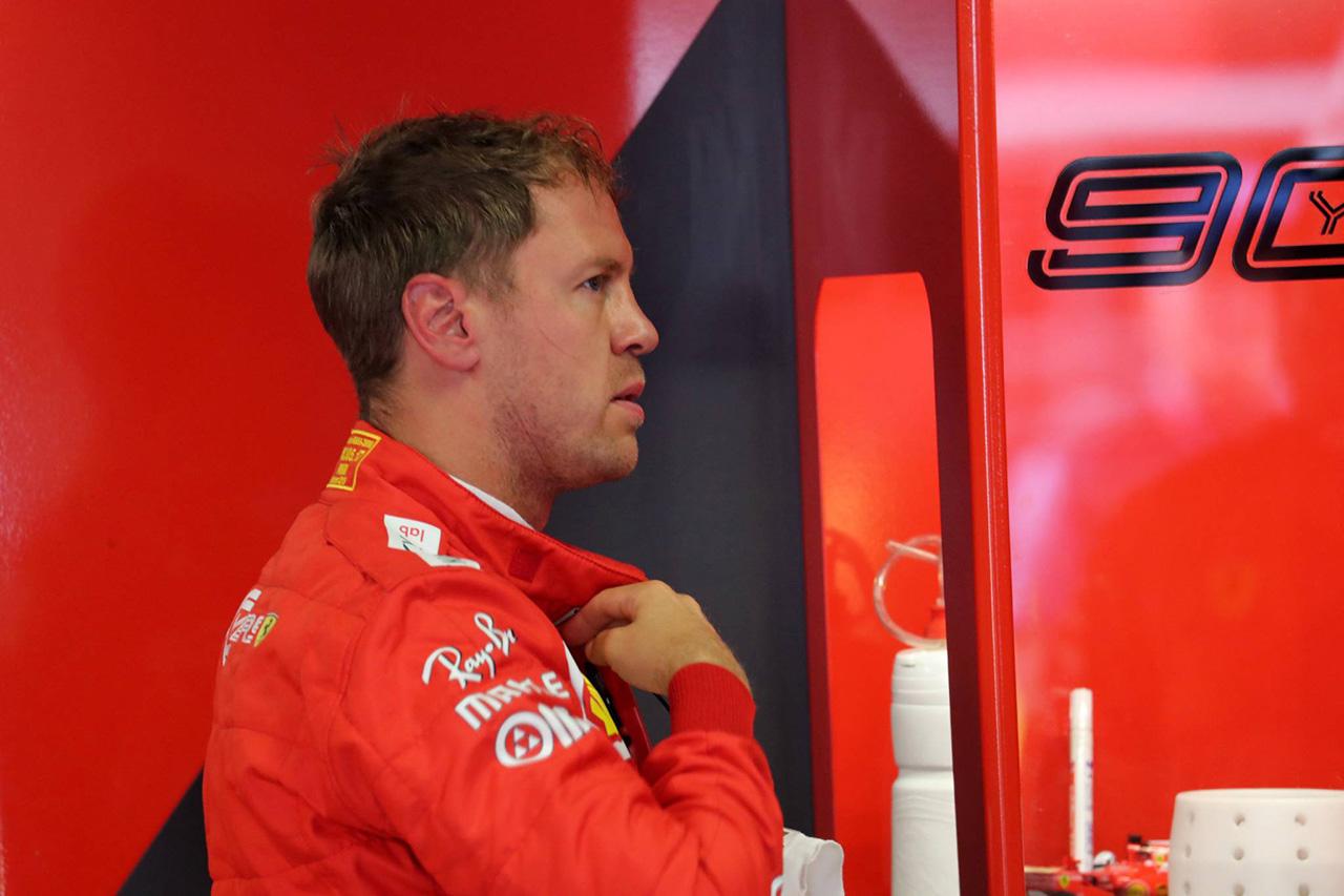 F1 セバスチャン・ベッテル、トラックリミット違反のタイム抹消を免れる