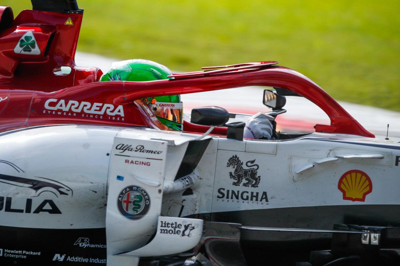 F1 アントニオ・ジョビナッツィ、母国レースで自身2度目の入賞に感無量