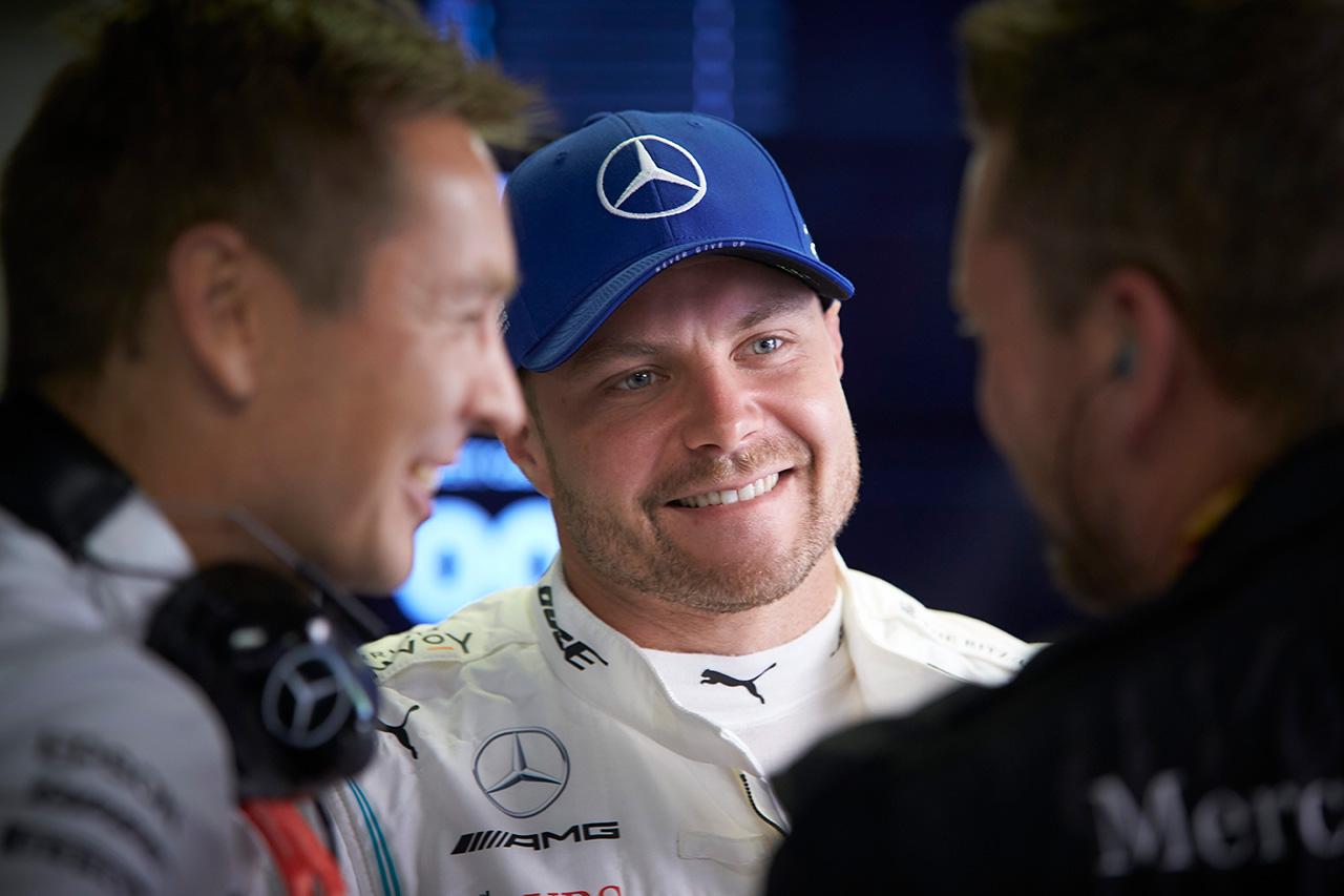 F1 バルテリ・ボッタス 「モンツァでフェラーリに挑戦できたのはポジティブ」