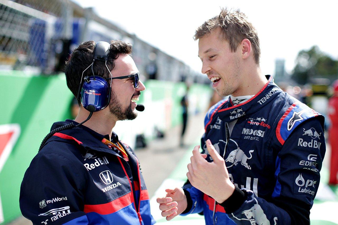 F1 ダニール・クビアト、無念のDNF「トップ10に入れる自信が十分にあった」