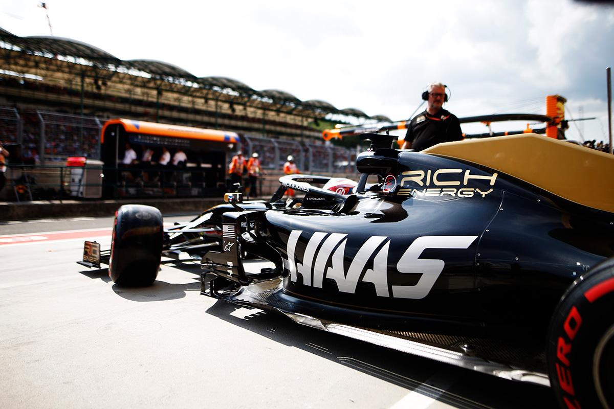 ハースF1チーム、リッチエナジーとのタイトルスポンサー契約終了を発表