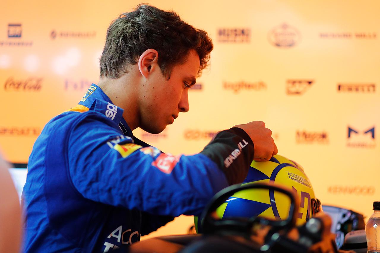 F1 ランド・ノリス、粘りの10位も「バーチャルセーフティカーが出なければ…」