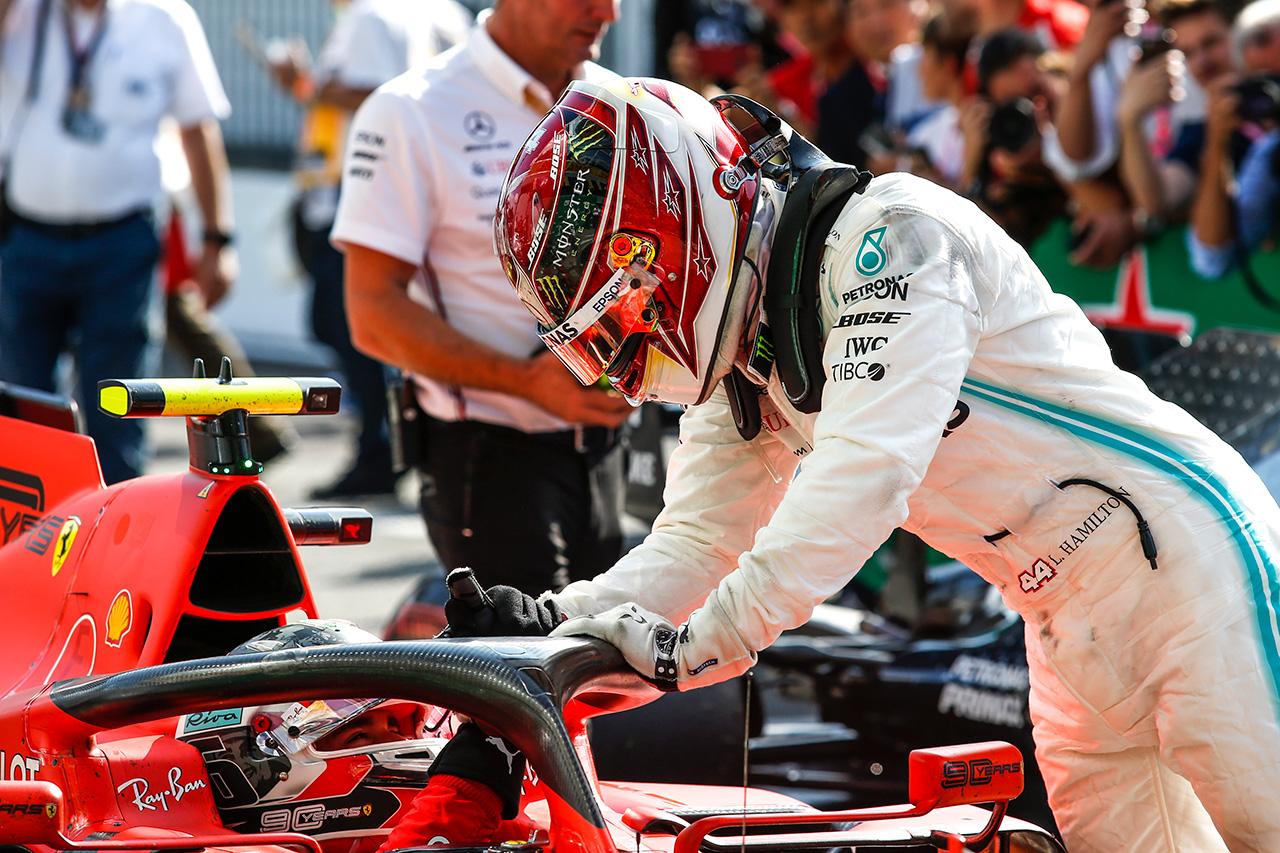 F1 ルイス・ハミルトン 「フェラーリとレッドブルとのバトルを楽しんでいる」