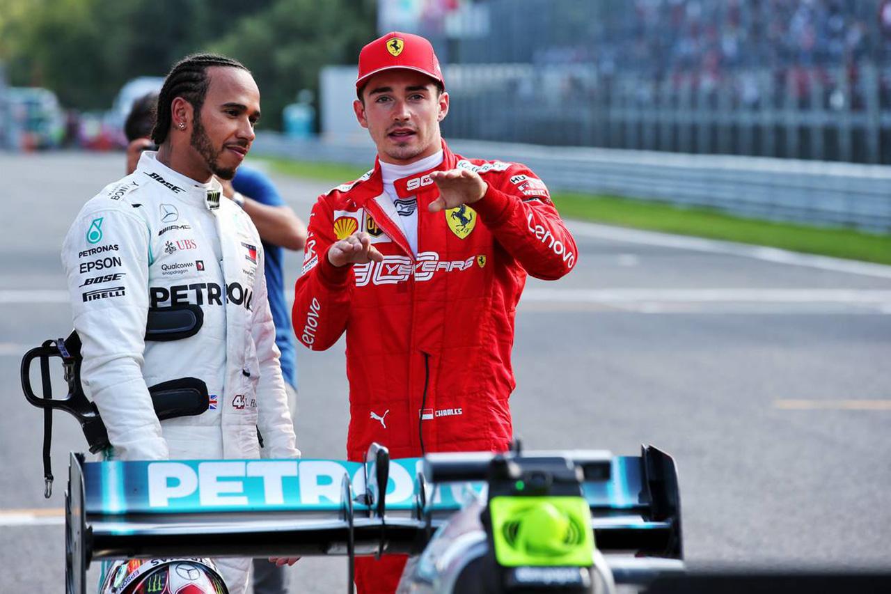 F1 ハミルトン、ルクレールに宣戦布告 「やられっぱなしで終わらせない」