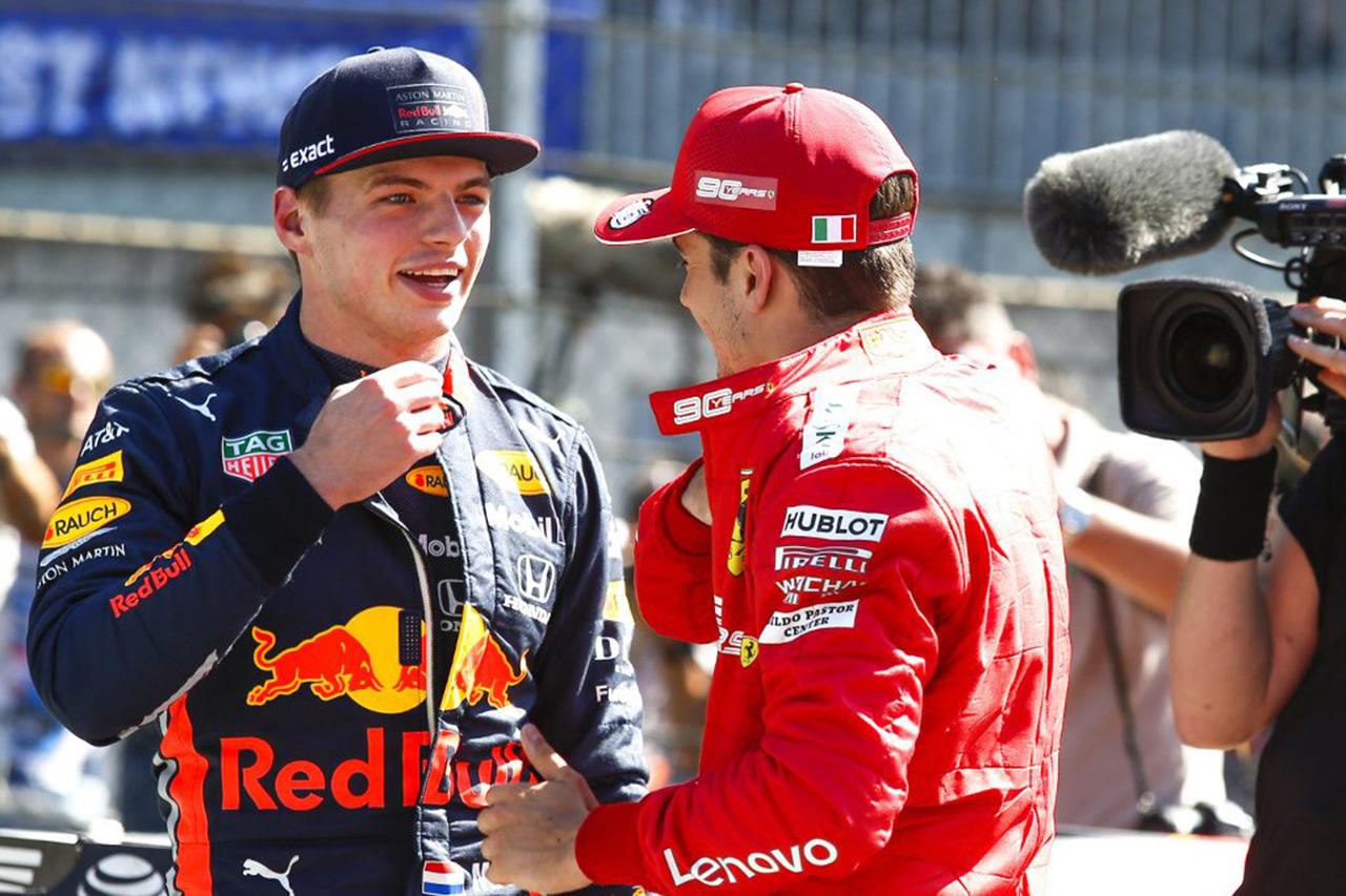 F1 マックス・フェルスタッペン「ルクレールと同じチームでもうまくやれる」