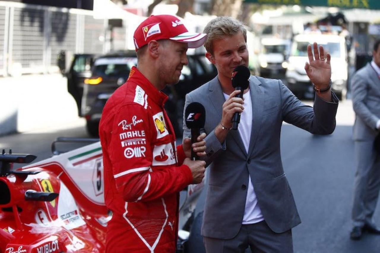 F1 ニコ・ロズベルグ、セバスチャン・ベッテルの不振に困惑「説明できない」