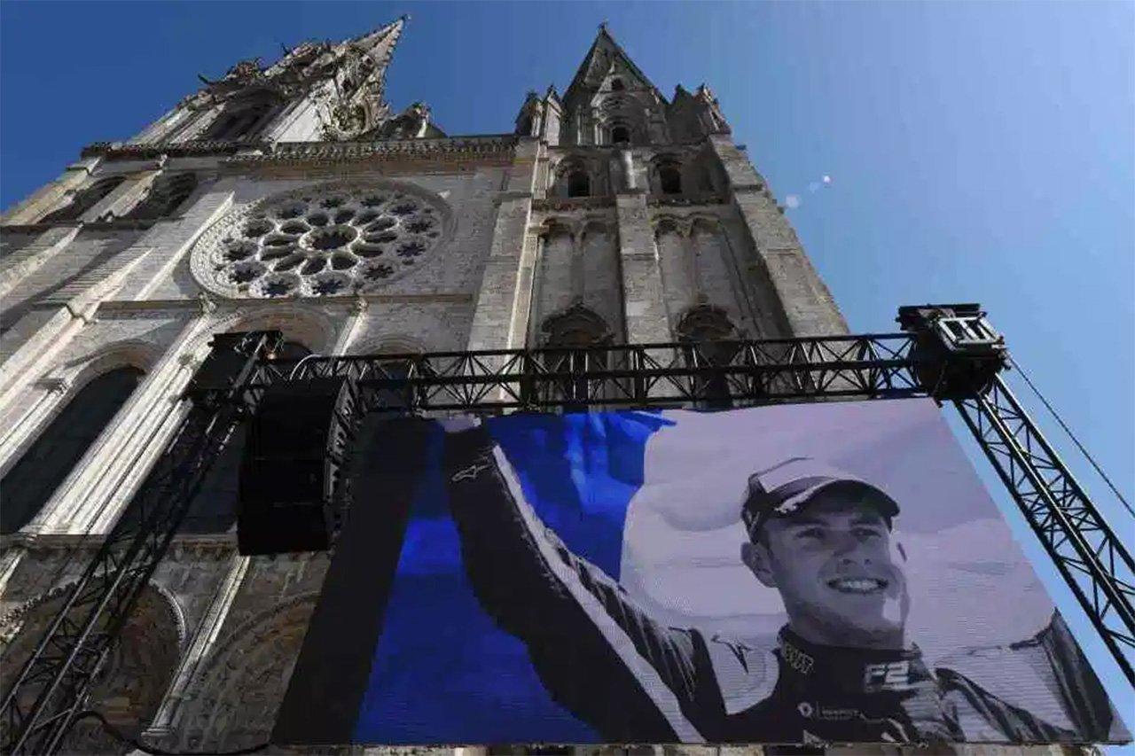 アントワーヌ・ユベールの葬儀が営まれる…F1界の多くの仲間が最後の別れ