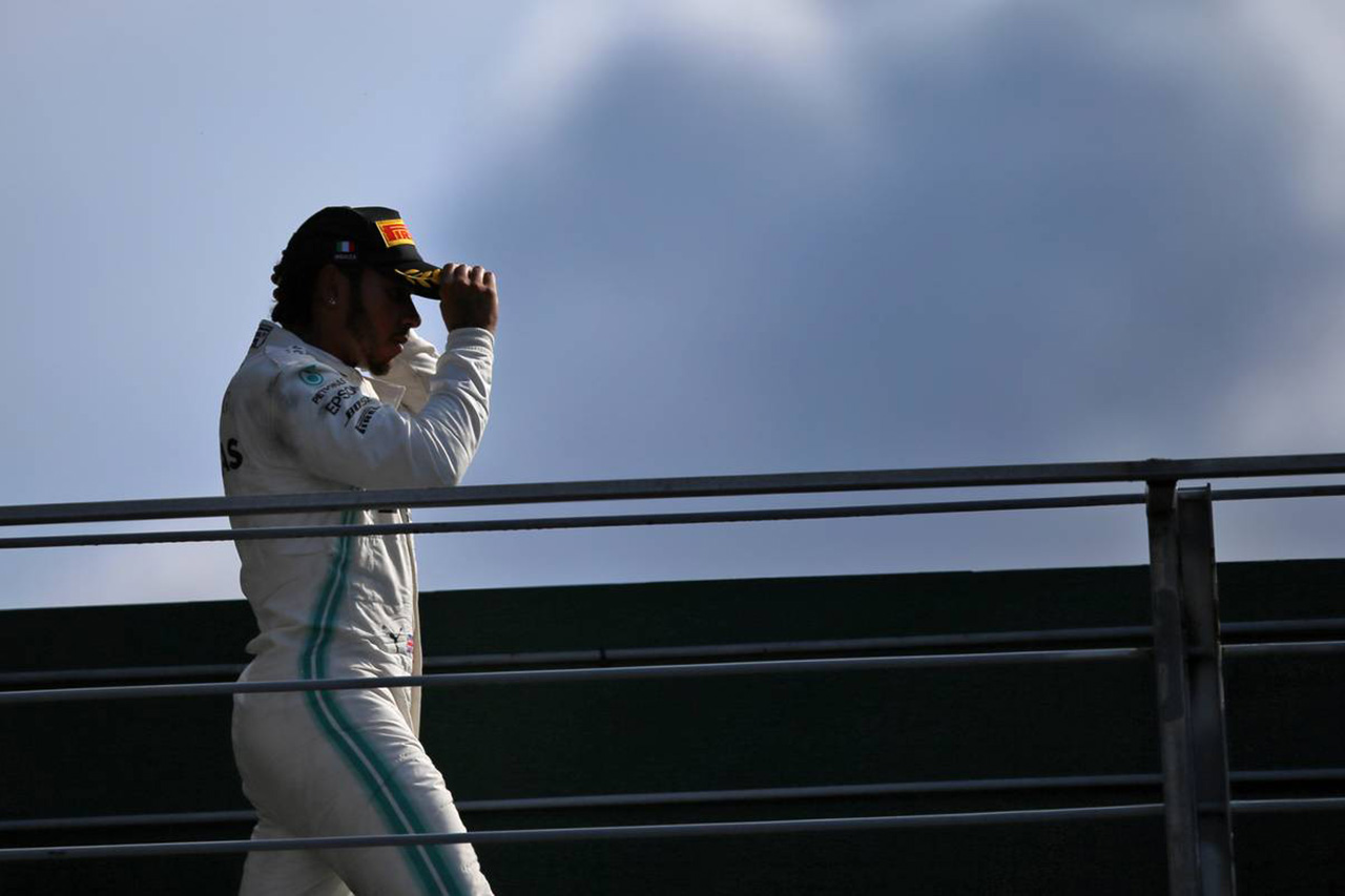 ハミルトン 「いつかモンツァの表彰台でブーイングが止むことを願う」