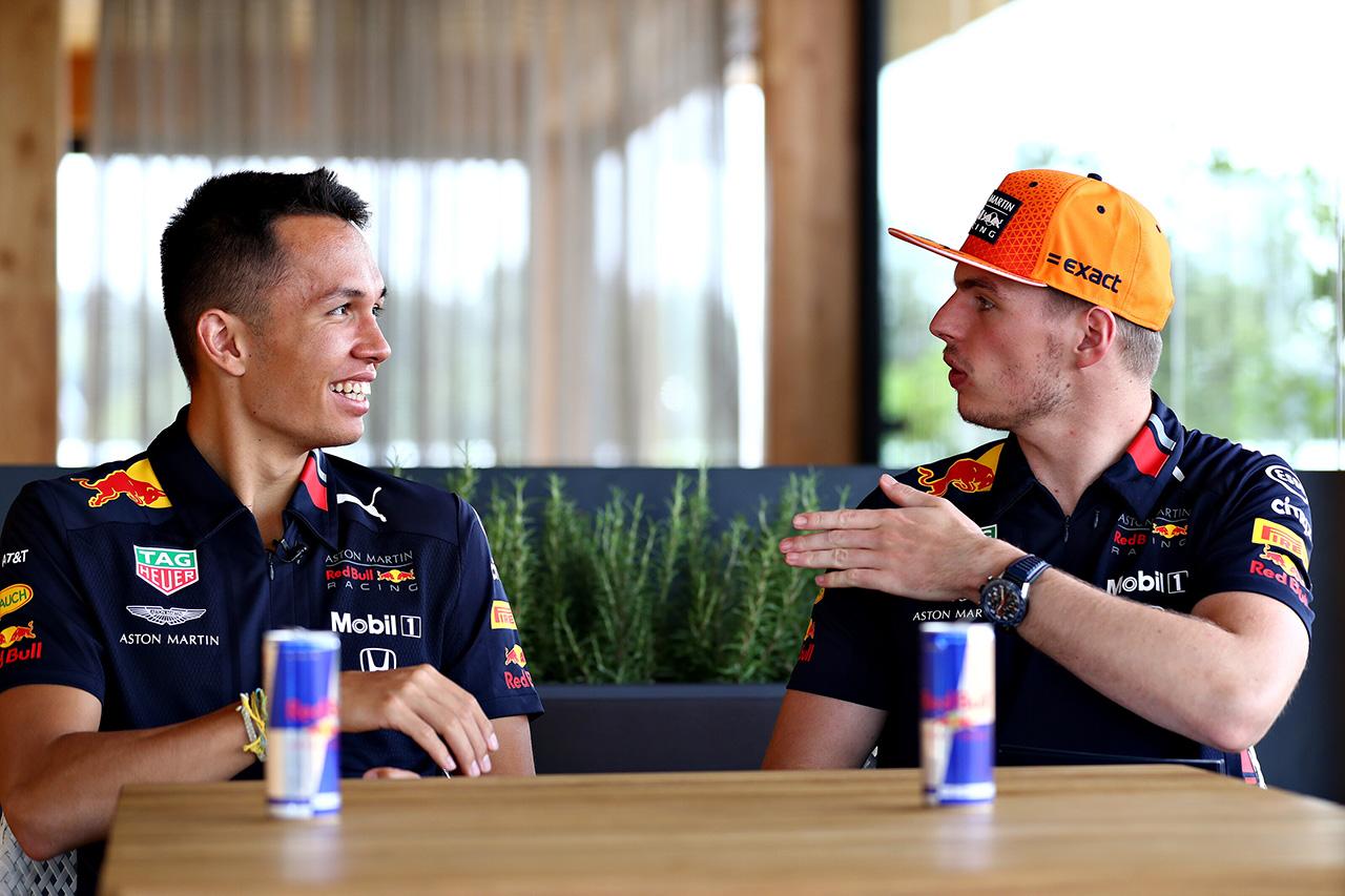 F1 アレクサンダー・アルボン「フェルスタッペンから多くのことを学んでいる」