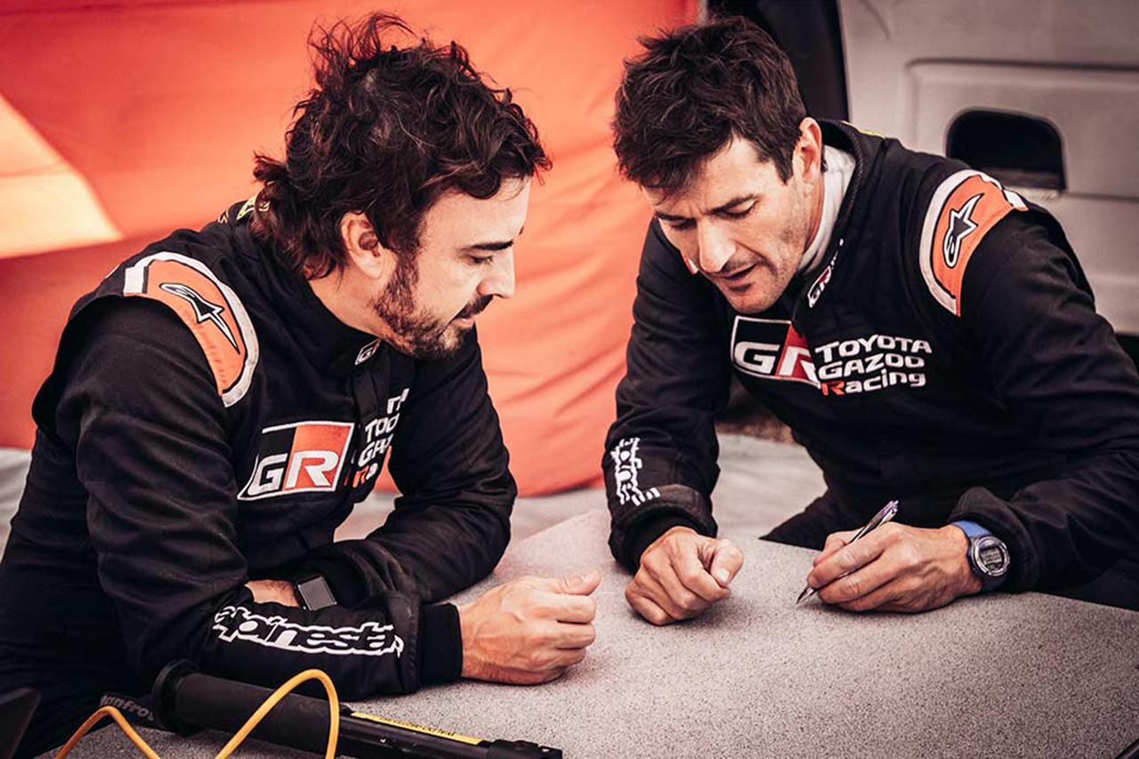 トヨタ、アロンソのダカールラリー2020挑戦にむけてナビゲーターを決定