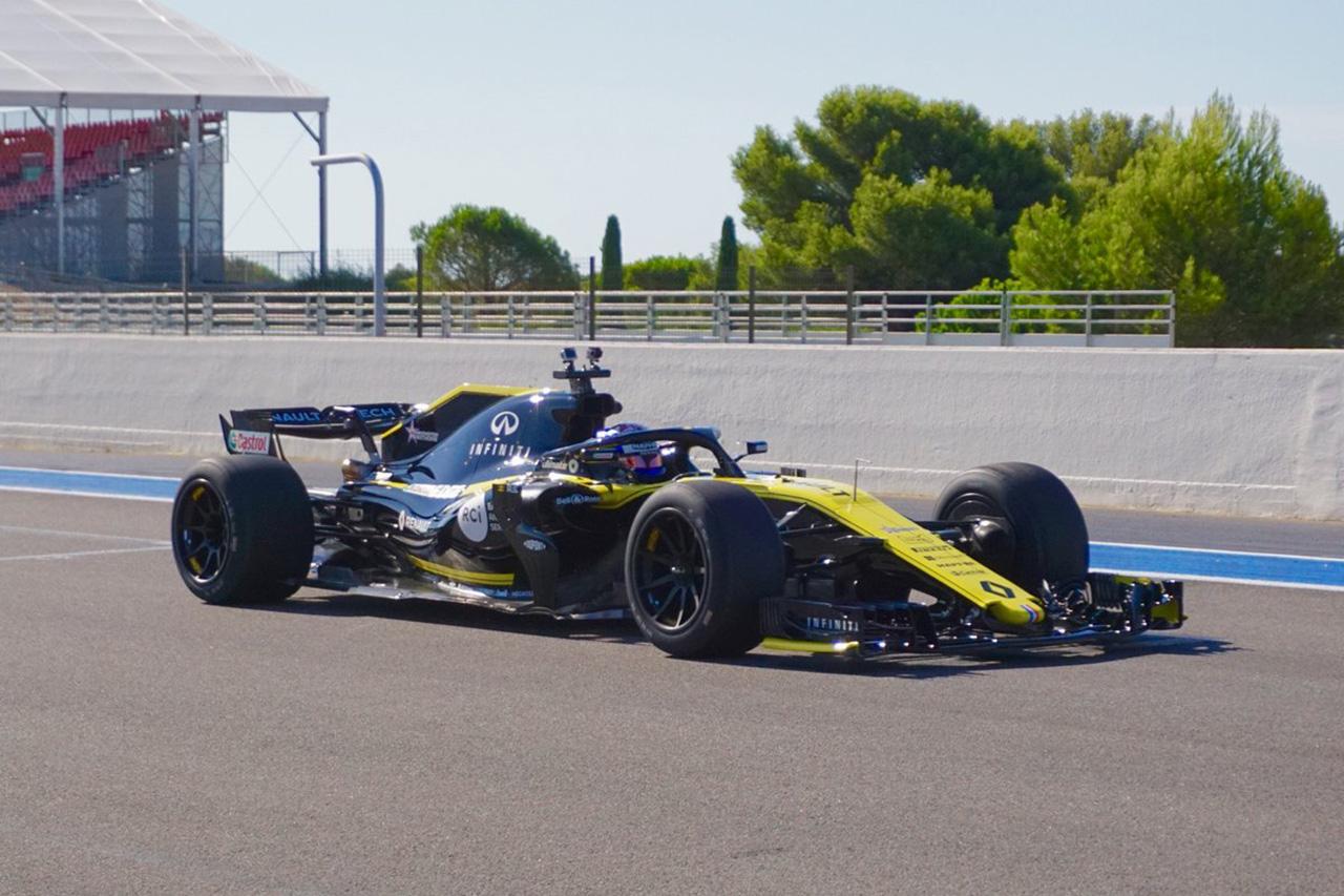ピレリ、18インチF1タイヤのテスト初日に94周を走破