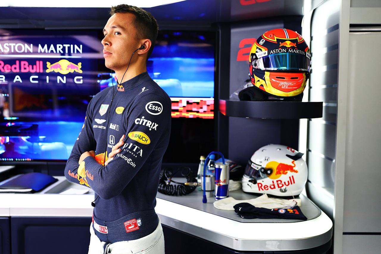 F1 アレクサンダー・アルボン 「自分にプレッシャーや期待をかけないようにしている」