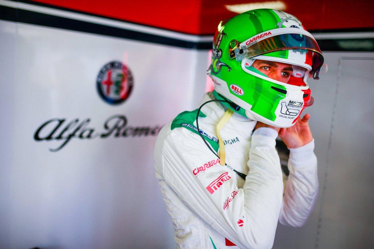 F1 アントニオ・ジョビナッツィ、2020年のアルファロメオ残留に自信