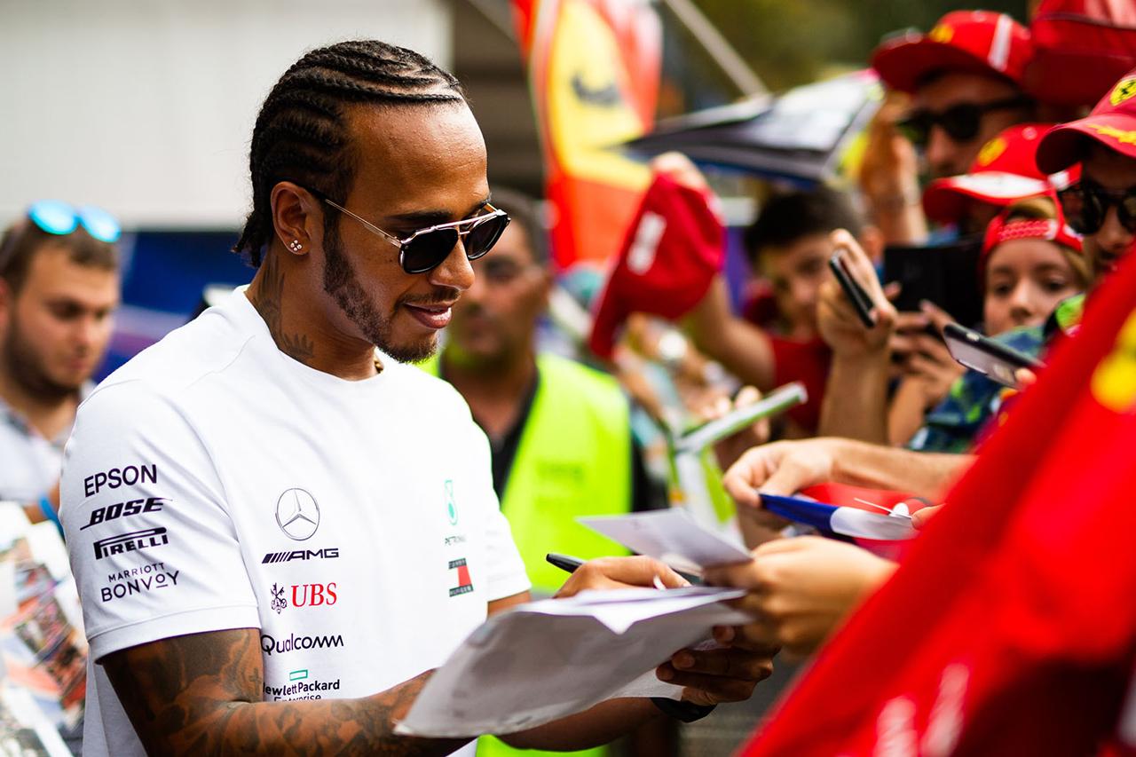 F1 ルイス・ハミルトン 「僕の加入を望んでいるフェラーリファンもいる」
