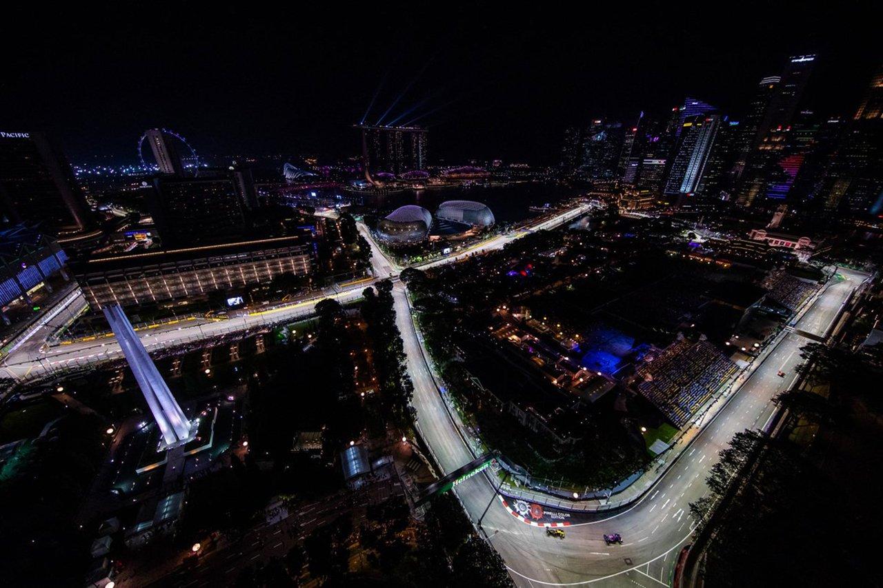 2019年 F1シンガポールGP テレビ放送時間&タイムスケジュール