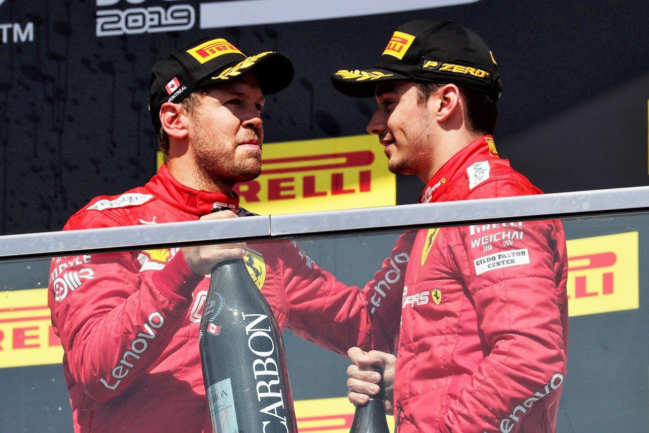 """F1 シャルル・ルクレール、フェラーリの""""ナンバー1""""ステータス奪取を否定"""