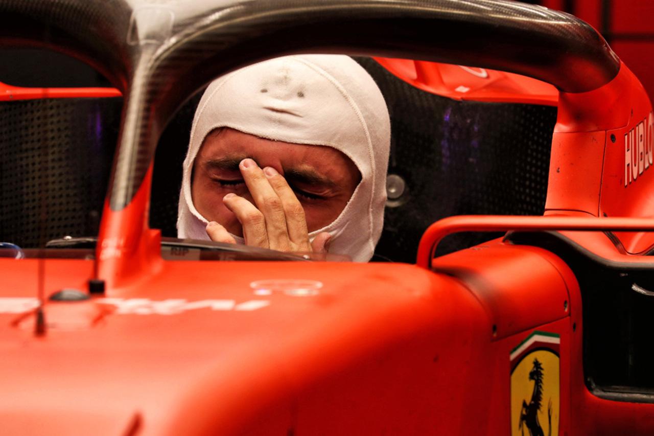 F1 シャルル・ルクレール 「マシンやトラックに良い感触を持てなかった」