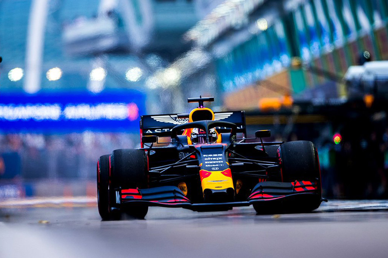 F1 シンガポールGP 金曜フリー走行