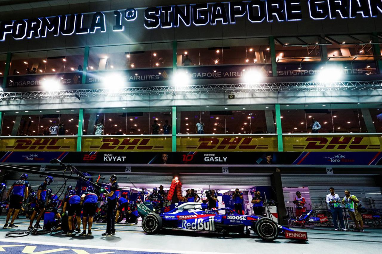 F1シンガポールGP 予選Q1 結果