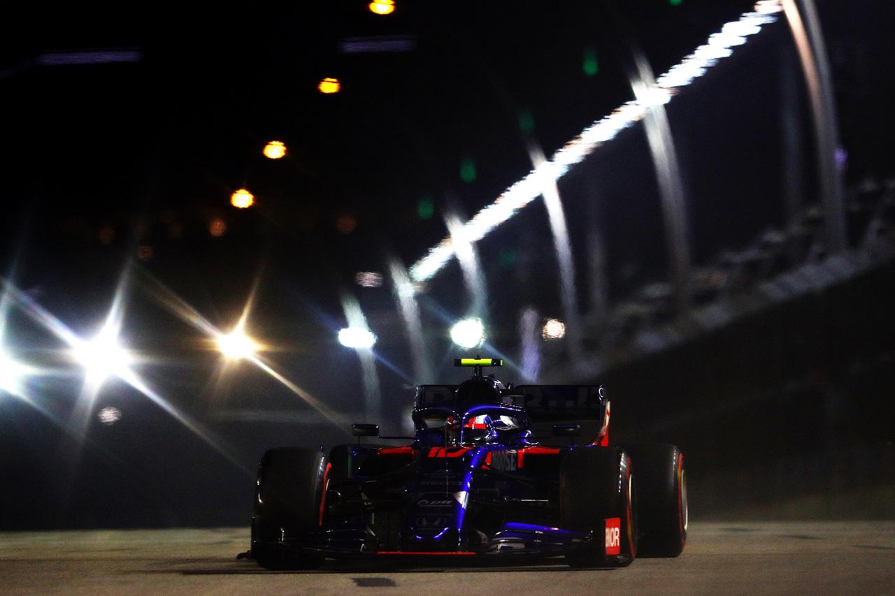 F1シンガポールGP 予選Q2 結果