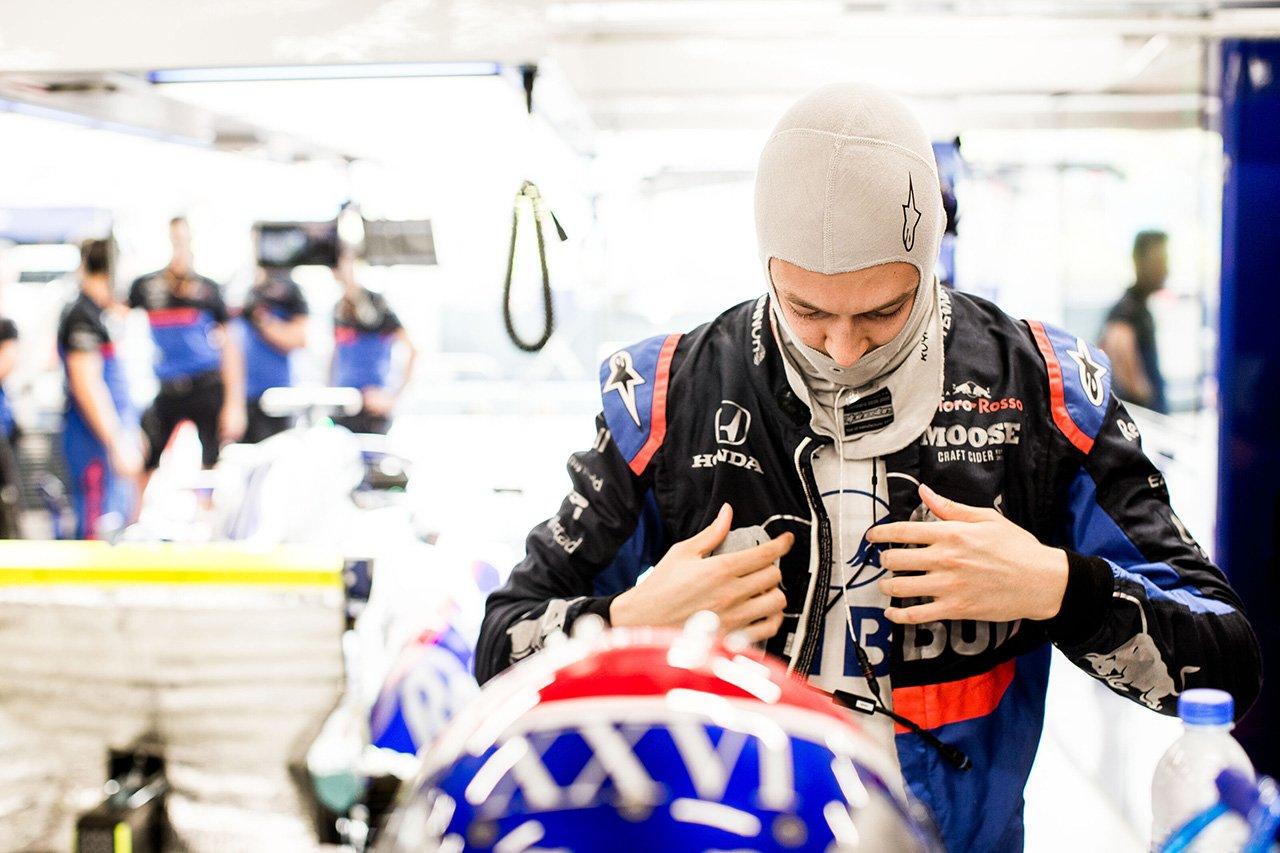 ダニール・クビアト 「最後のアタックは失敗。Q2はないと思った」 / トロロッソ・ホンダ F1シンガポールGP