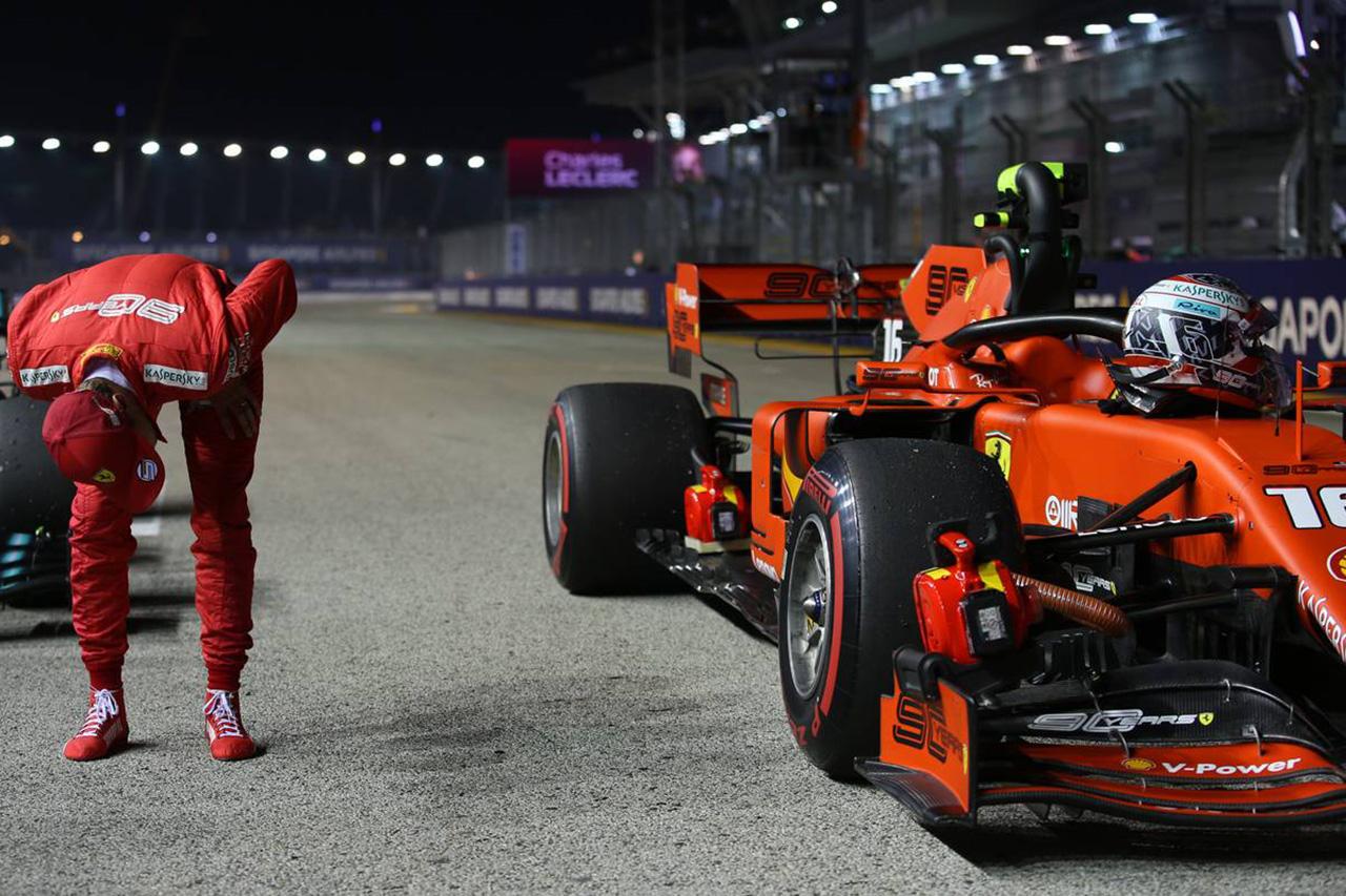 2019年 F1シンガポールGP 決勝