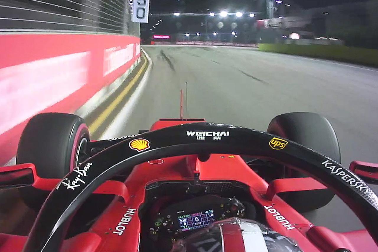 【動画】 シャルル・ルクレールのポールラップ / F1シンガポールGP 予選