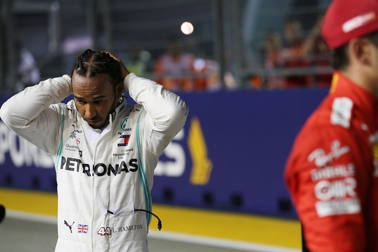 F1 ルイス・ハミルトン 「フェラーリの予選での速さにショックを受けた」