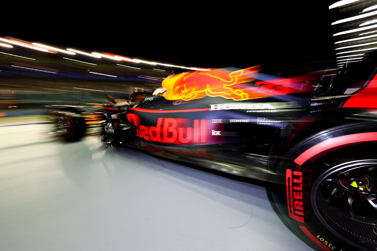 レッドブル・ホンダ 「フェラーリはQ3で信じられないペースを見い出した」 / F1 シンガポールGP予選