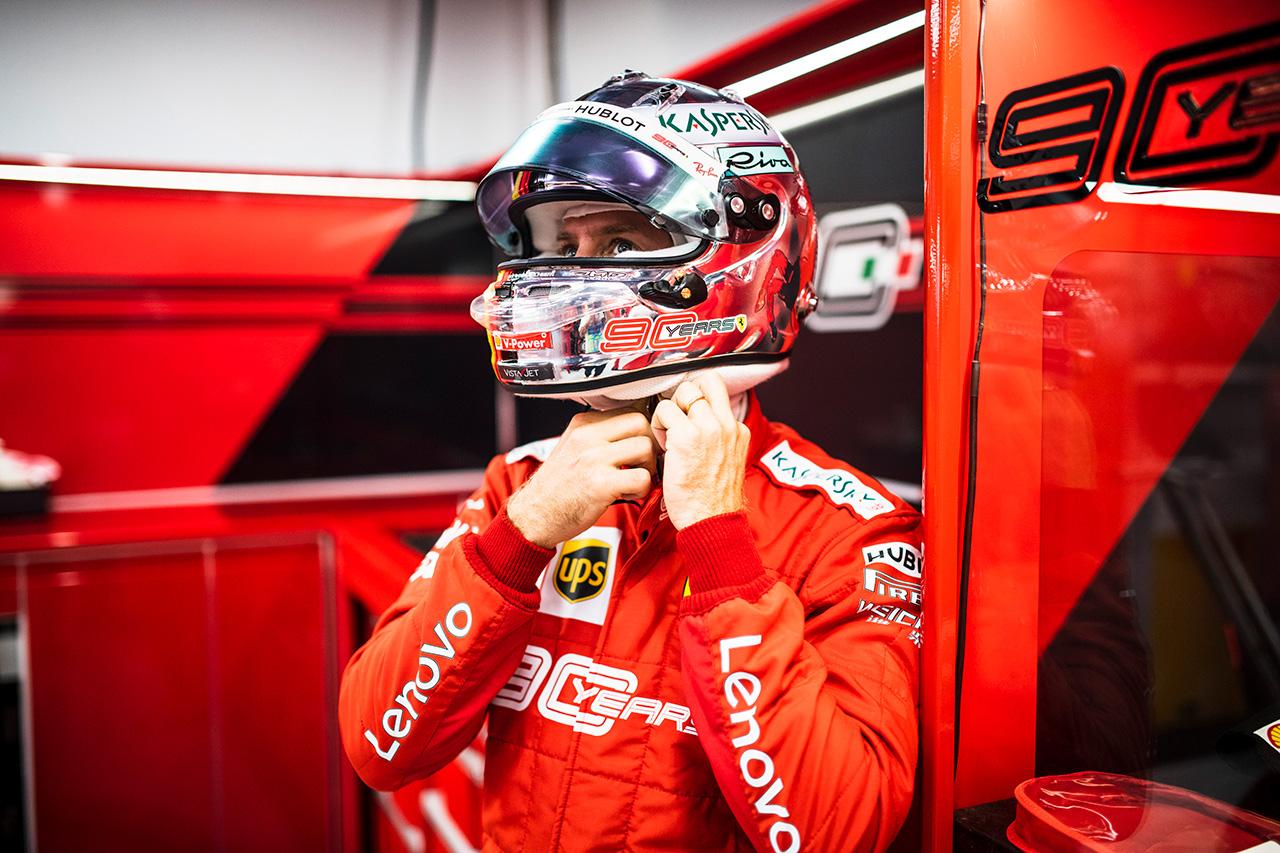 セバスチャン・ベッテル 「ピークを持っていくのが早すぎた」 / フェラーリ F1シンガポールGP予選
