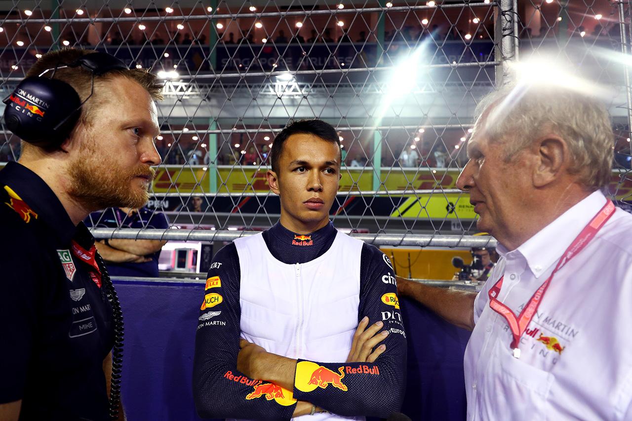 アレクサンダー・アルボン、6位入賞「メルセデスを抜けるペースはなかった」 / レッドブル・ホンダ F1シンガポールGP