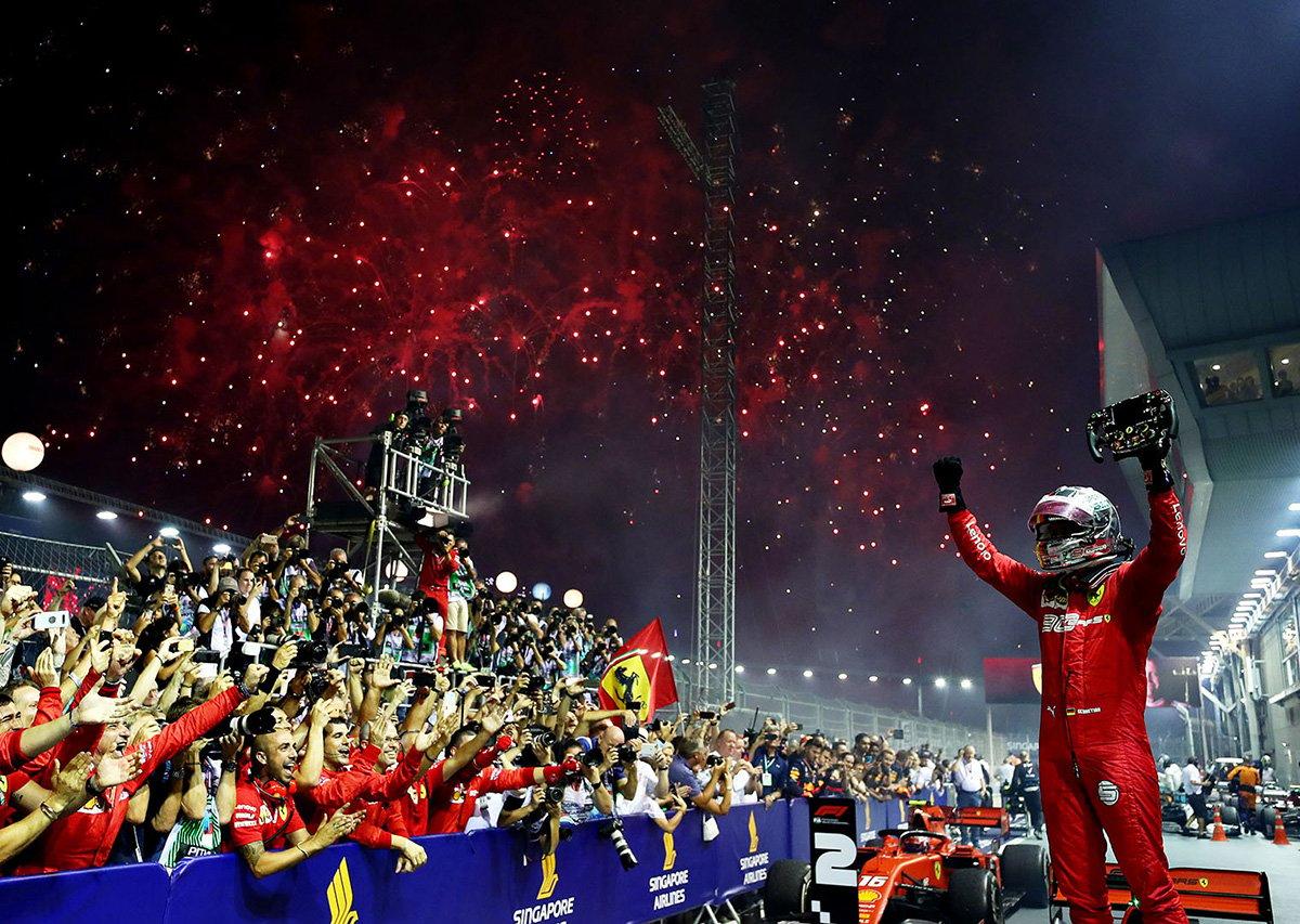【動画】 2019年 F1シンガポールGP 決勝 ハイライト