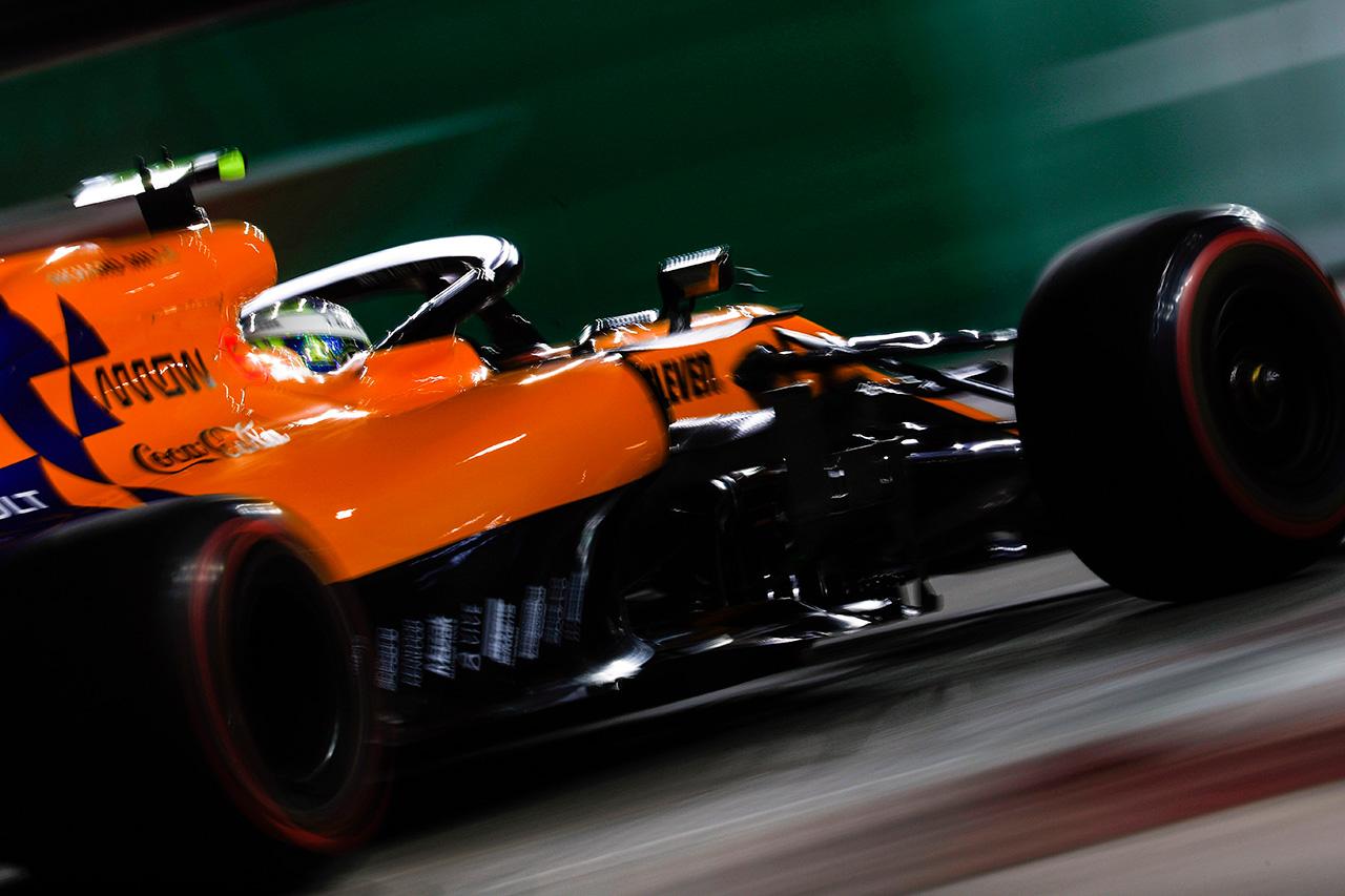 ランド・ノリス 「4秒遅いペースで走るなんてレースじゃない」 / F1シンガポールGP