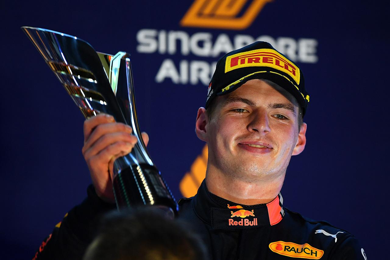 マックス・フェルスタッペン 「表彰台を獲得できたのは前向きな結果」 / レッドブル・ホンダ F1シンガポールGP