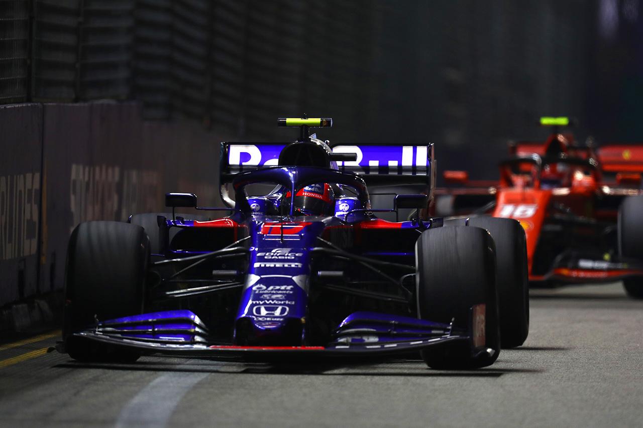 F1 トロロッソ・ホンダ 「選手権を考えれば全体的に満足できるリザルト」 / F1シンガポールGP