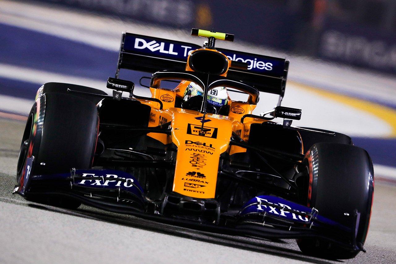 マクラーレン、ノリスがBest of the Restの7位 / F1シンガポールGP