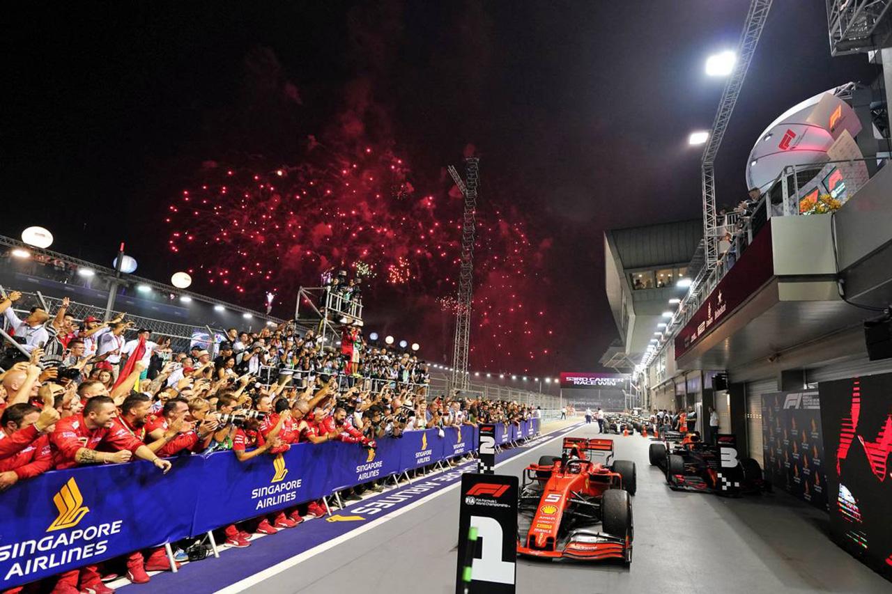 2019年 F1 シンガポールGP 決勝