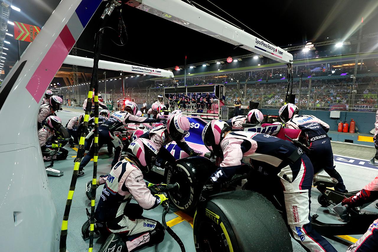 レーシングポイント、不運が重なりノーポイント / F1シンガポールGP