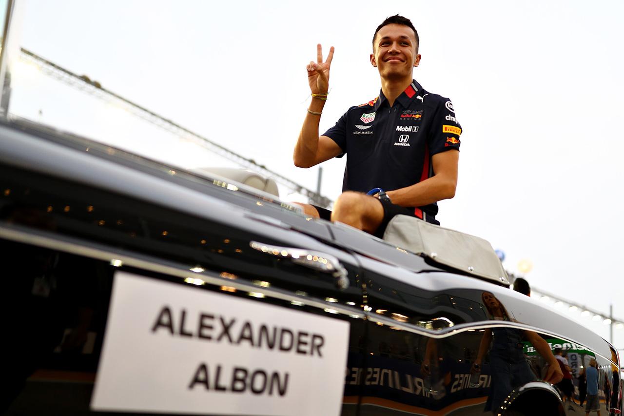 アレクサンダー・アルボン 「慣れ親しんだソチに戻るのが楽しみ」