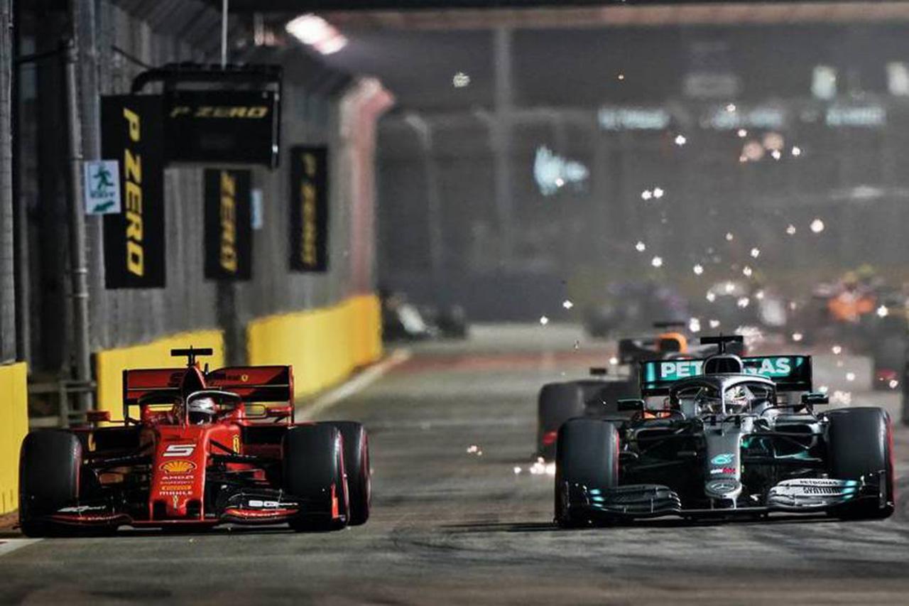 ルイス・ハミルトン 「フェラーリは今後どのサーキットでも強い」