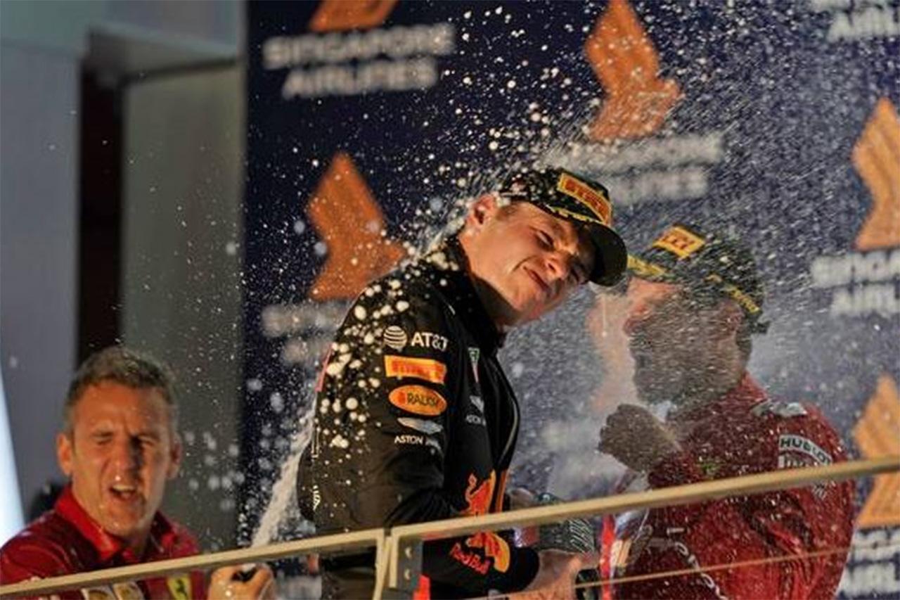 フェルスタッペン 「ベッテルの勝利はレッドブルのおかげでもある」