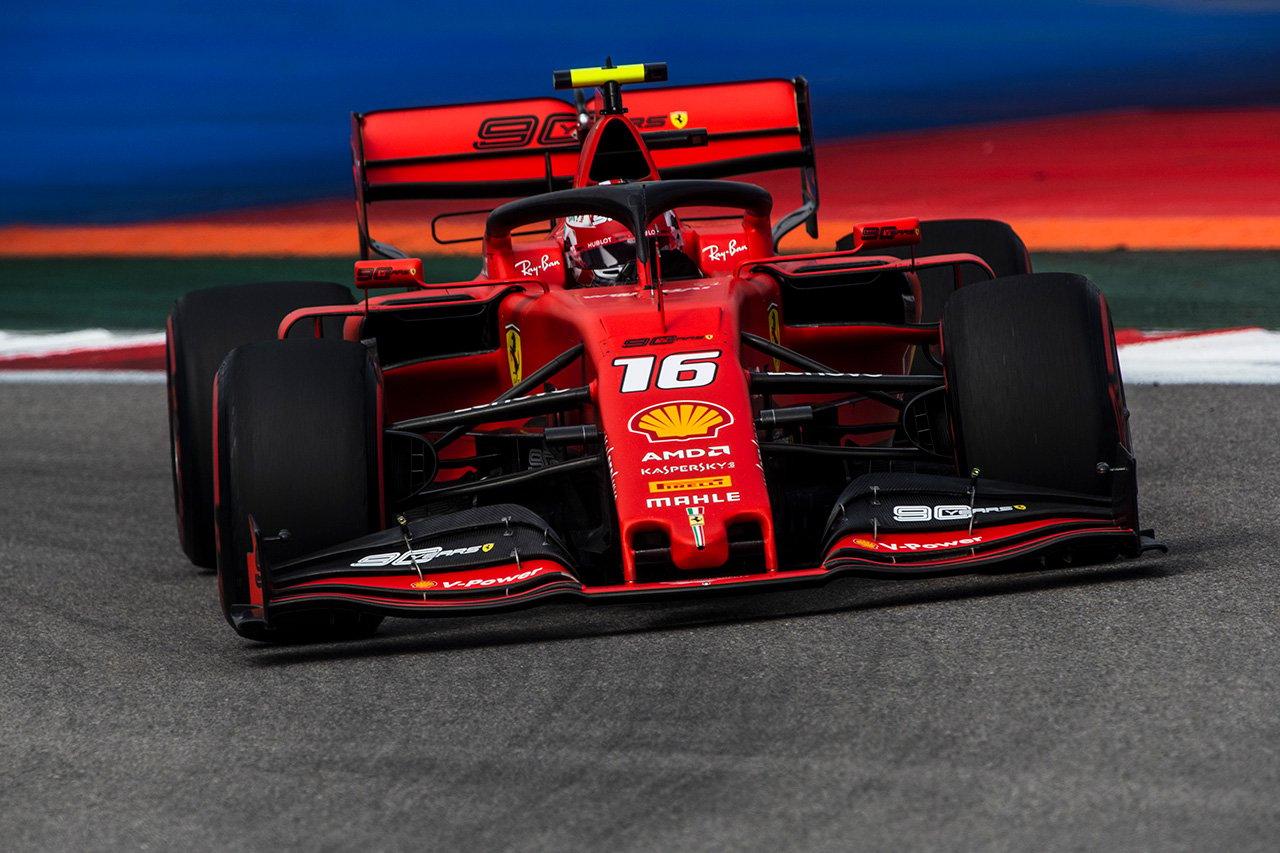 F1ロシアGP 予選