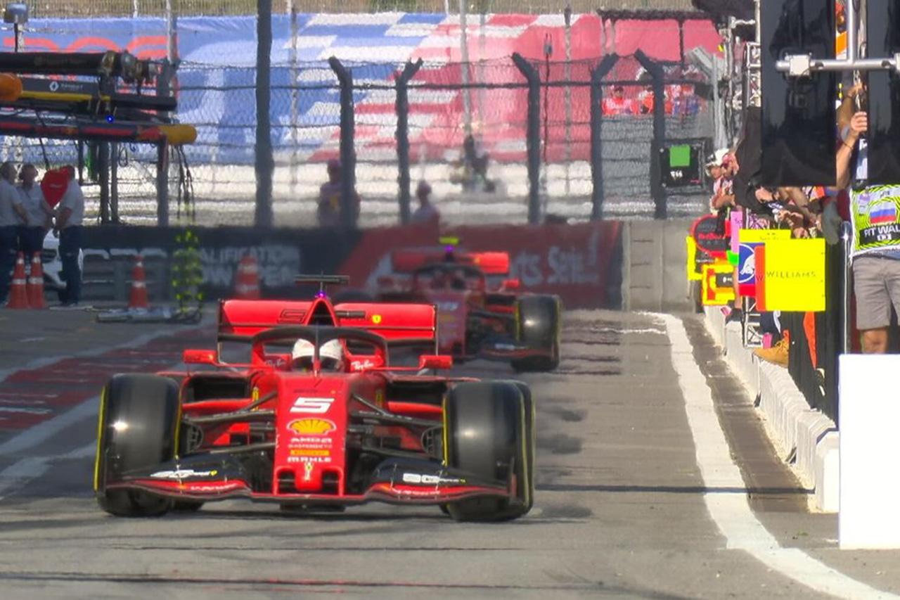 F1ロシアGP 予選Q1 結果