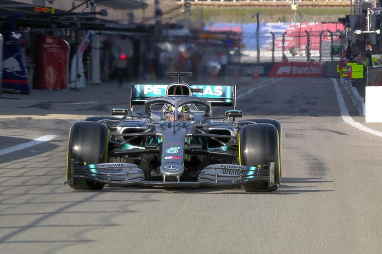 F1ロシアGP 予選Q2 結果